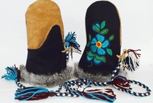 Beaded Muklucks, Gloves and moccasins inspiration