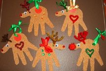 DIY Holiday & Seasonal Crafts / DIY Christmas ornaments for little ones.