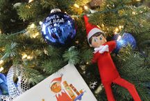 Snips the Elf / Snips is our Purl's Sheet Metal & Air Conditinoing Elf on a Shelf.  He reports back to Santa about everyone at Purl's Sheet Metal.   We want to know who is reporting about his behavior?? / by Purls Sheet Metal & Air Conditioning