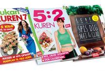 Slankekure / Hvilken slankekur passer til dig? Her kan du læse mere om alle de populære slankekure og livsstile...