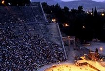 Ancient Greek Theaters and Temples / Ancient Greek Civilisation and Architecture.