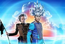 Empire of the Sun / Empire of the Sun is an Australian electronic music duo from Sydney, formed in 2007.The band is a collaboration between Luke Steele of alternative rock act The Sleepy Jackson, and Nick Littlemore of electronic dance outfit Pnau. Drives: Walking on a Dream / Ice on the Dune/Two Vines.