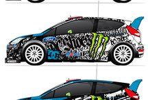 Car wrap design