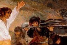 La guerra de la independencia y Francisco de Goya / Conocer la historia sobre la guerra de la independencia a través de las pinturas de Francisco de Goya, además de otros detalles de la historia y obras del autor.