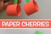 paper cherries
