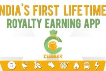 Cubber App Offer / Cubber.in Brings happiness for users to get chance to earn money through shopping and referring