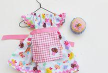 Одежда для кукол, идеи и выкройки