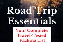 Road Trip / Travel tips and gadgets for road trips