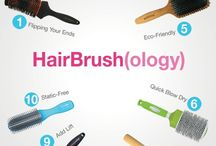 Hair tools / Hair tools and products you will need for that perfect hair.