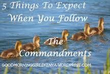 Good Morning Girls-Notes / Summarising weekly Bible study messages