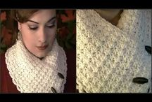 crochet  collar scarf