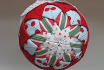 FOLDED FABRIC PIECES / by Gayle Mullinax