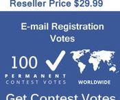 Buy Email Registration Votes / Buy Online Votes for any kind of Contest. Buy Registration Votes