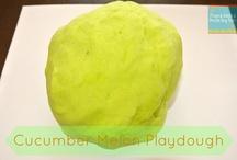 Doughs, slimes, chalks, paints, foams....