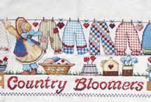 country cross stitch