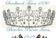 Crowns & Tiaras / by Petals & Plumes- Angie Etheridge(owner/designer)