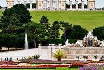 po Rakousku Schonbrunn Palace,Vienna