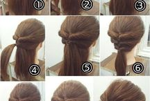 easy & quick hairstyle