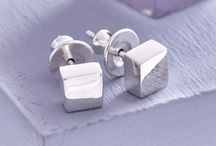 Designer silver earrings / Scarlett have a gorgeous range of easy to wear earrings in solid silver, perfect for that touch of style every day.