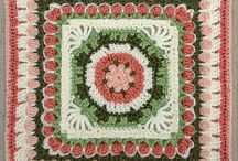 Square crocheting
