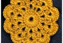 Crochet Coasters/Circular Motifs