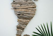 Beach craft / Drift wood