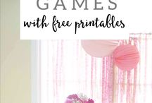 Bridal Shower Ideas / Games to play at Bridal Showers.