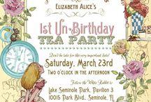 alice invitations