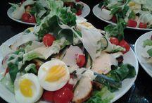 Banting salads / Healthy, gourmet, low carb salads