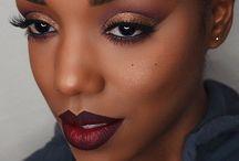 Make-up Black skin