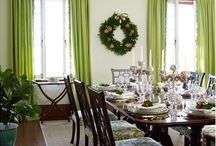 Dining Room Ideas / by Sharon Rowley (MomOf6)