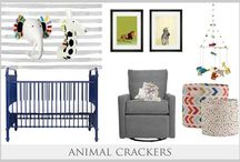 Boy Nurseries / Baby Boy Nursery Inspirations