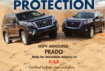 Best Bulletproof Vehicles UAE