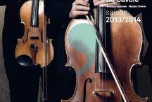 Saison 2013-2014 / Retrouvez les visuels de saison 13-14 des orchestres de l'AFO ! #graphisme #visuels http://www.france-orchestres.com/les-orchestres/