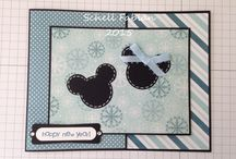 Mickey and Minnie Series 2015 / Joy Fold Cards