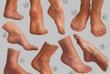 Legs/Feet