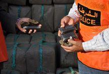 السلطات المغربية تحجز 15 طنا من المخدرات في طريقها الى مالي