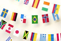 Flags / by Mam & Supa