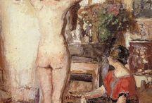 Edouard Vuillard / Jean Édouard Vuillard, né le 12 novembre 1868 à Cuiseaux et mort à La Baule le 21 juin 1940, est un peintre français.