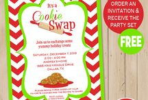 cookie swap invite ideas / by Cheryl Strand Winbourn