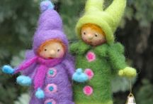 i FeLT it! / Needle felting is so much fun! Creating little sculptures to water color-like paintings to fun embellishments with polka dots and squiggles. My world just got better. / by Marie Mayhew Designs