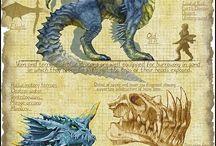 Dragons / by Elyse Nakashima