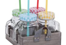 Colourful, Whimsical Mason Jars! / Host a picnic, carry a creative lunch to work or dress up your kitchen with our all-new mason jars! Shop Now: http://bit.ly/1NKm2RH