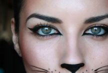 Halloween party make up