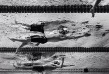 Swimming attitude