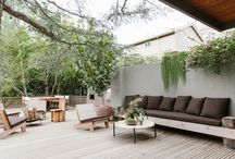 Terraces and outdoor rooms