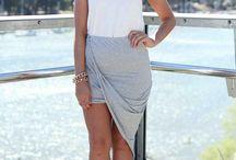 TREND| Draped Asymmetrical Wrap Skirt
