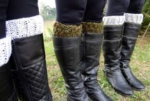 Boot Cuff e luvas