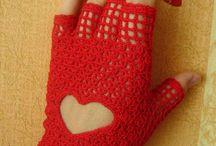 митенки, перчатки, варежки