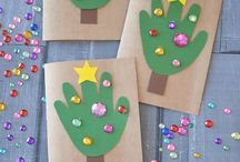 Kid crafts xmas